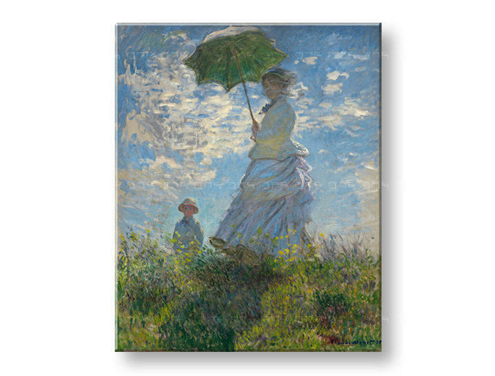 Slika na platnu LADY WITH UNMBRELLA – Claude Monet