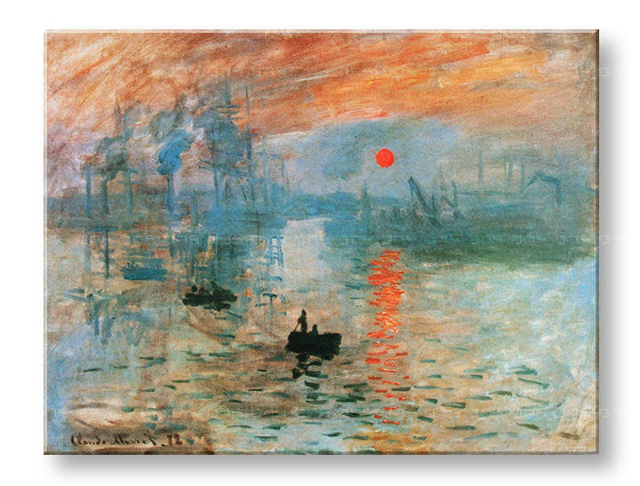 Slika na platnu IMPRESSION, SUNRISE – Claude Monet