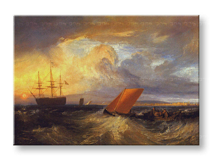 Slika na platnu SHEERNESS VISTA DAL NORE – William Turner