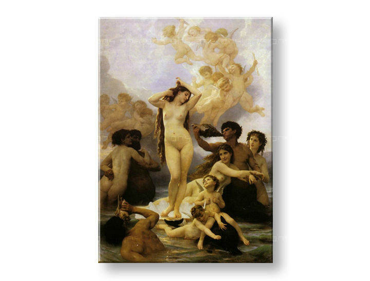 Slika na platnu ROĐENJE VENERE - William Bouguereau